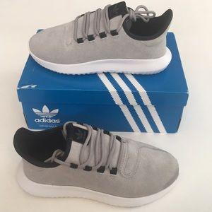 New Adidas Boys Original Tubular Shadow J Running